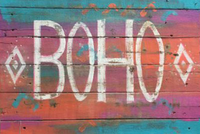 About boho sign